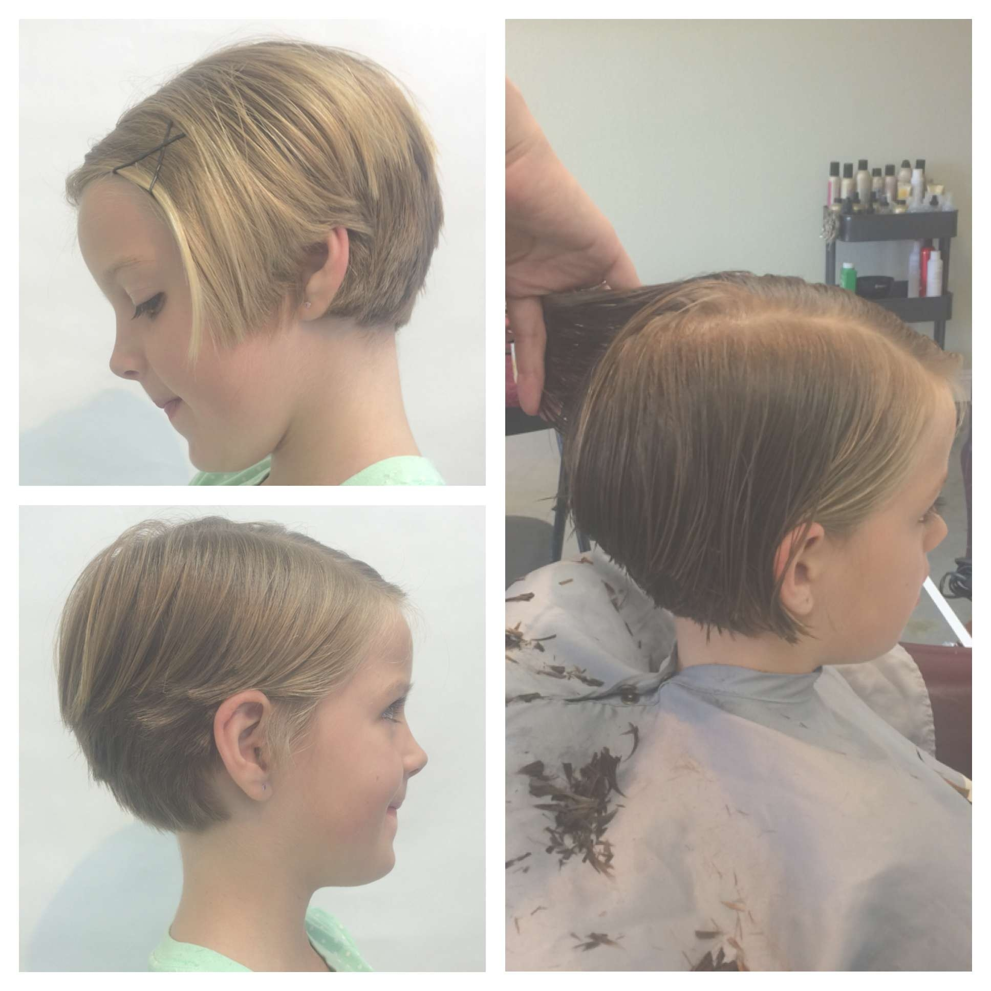 Child Pixie Hair Cut Girls Pixie Hairstyle Cute Short Hair Inside Most Recent Baby Girl Pixie Hairstyles (View 2 of 15)