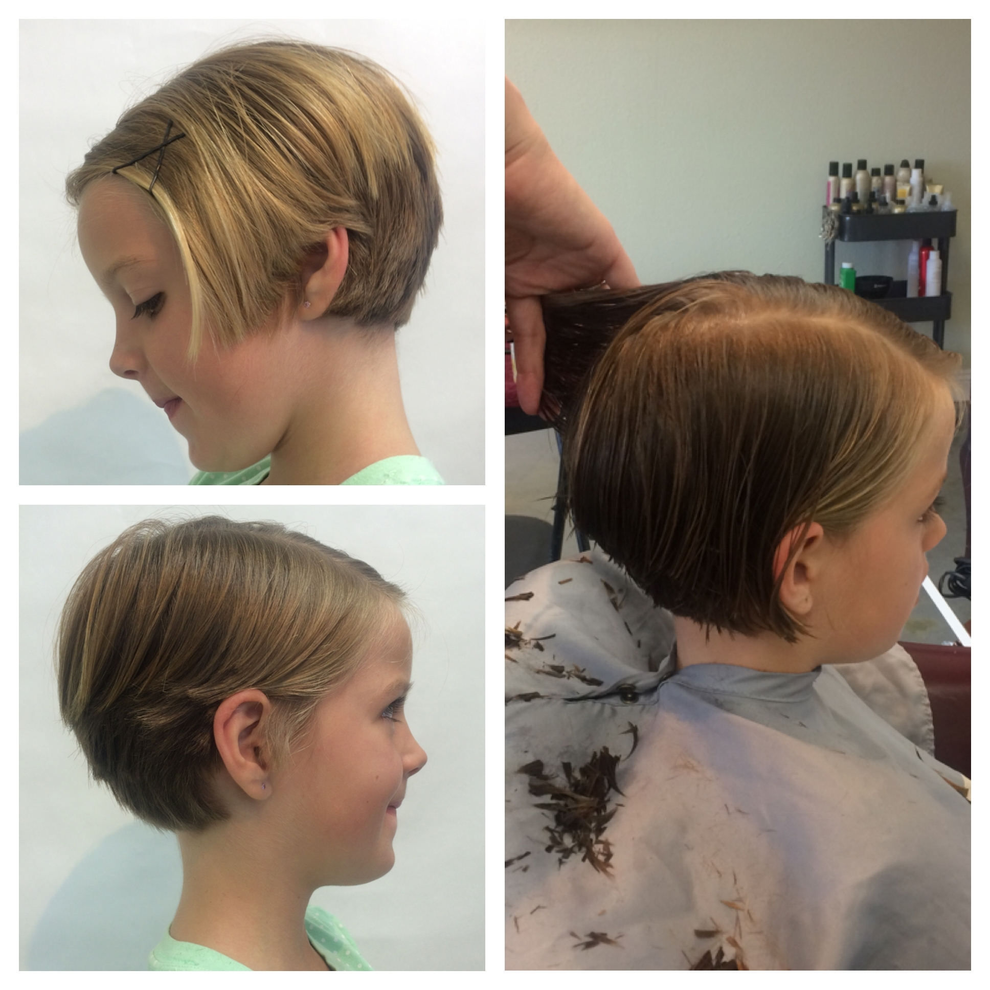 Child Pixie Hair Cut Girls Pixie Hairstyle Cute Short Hair Pertaining To Best And Newest Pixie Hairstyles For Kids (View 3 of 15)