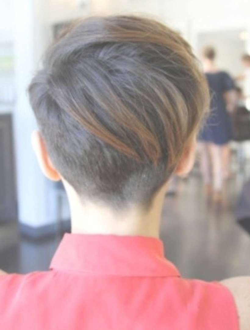 Image Gallery Of Back View Of Pixie Hairstyles View 5 Of 15 Photos