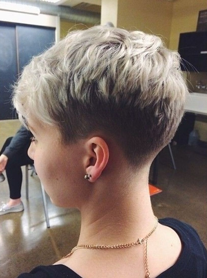 Cool Back View Undercut Pixie Haircut Hairstyle Ideas 54 – Fashion For Most Current Undercut Pixie Hairstyles (View 4 of 15)