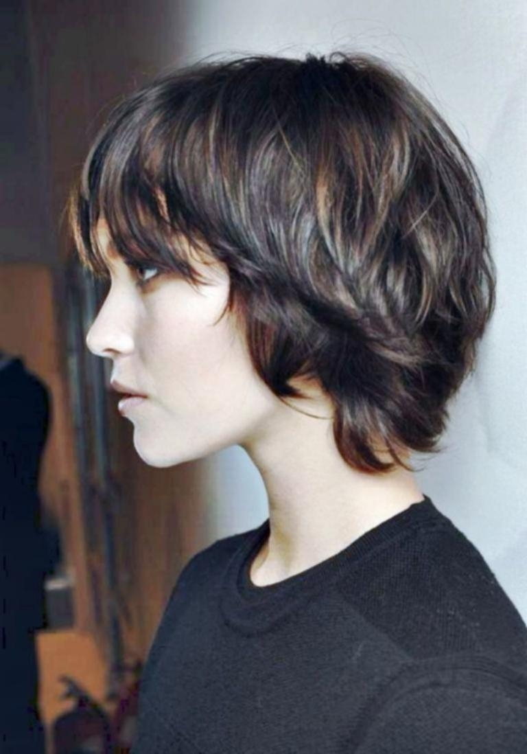 Cool Easy Hairstyles For Medium Length Hair Shaggy Pixie Haircut For Current Long Shaggy Pixie Hairstyles (View 2 of 15)