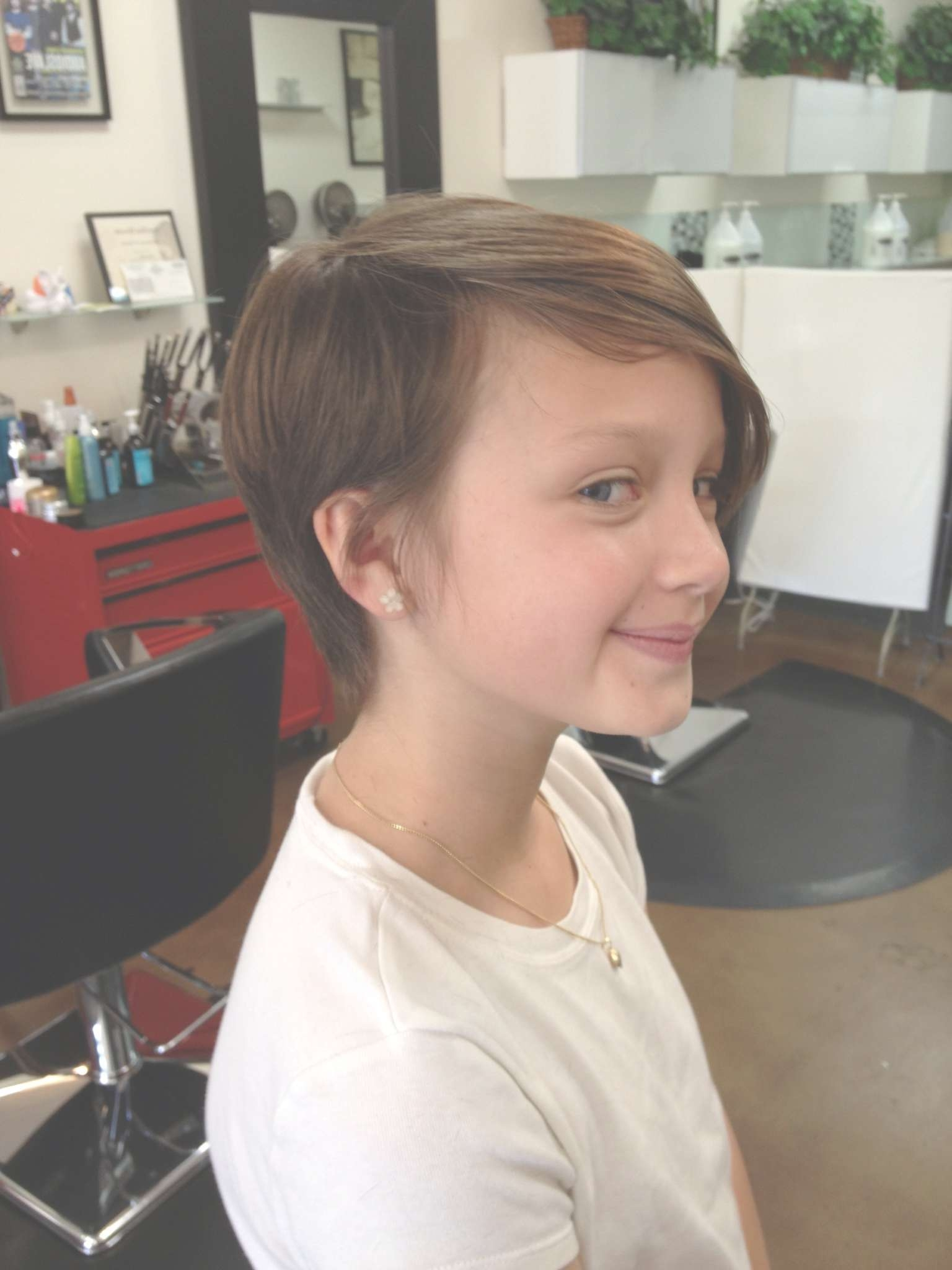 Cool Pixie Cut For A Tween (View 5 of 15)