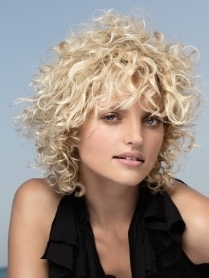 Curly Shag Hairstyle For Medium | Hairstyles | Pinterest | Shag Pertaining To Recent Medium Shaggy Curly Hairstyles (View 7 of 15)