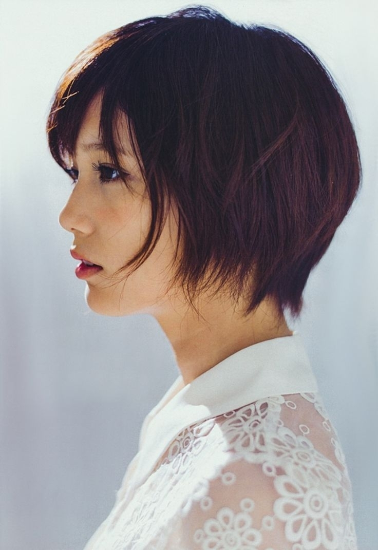 Cute Asian Hairstyle For Round Faces 1000+ Ideas About Asian Pixie Intended For Most Current Pixie Hairstyles For Asian Round Face (View 4 of 15)