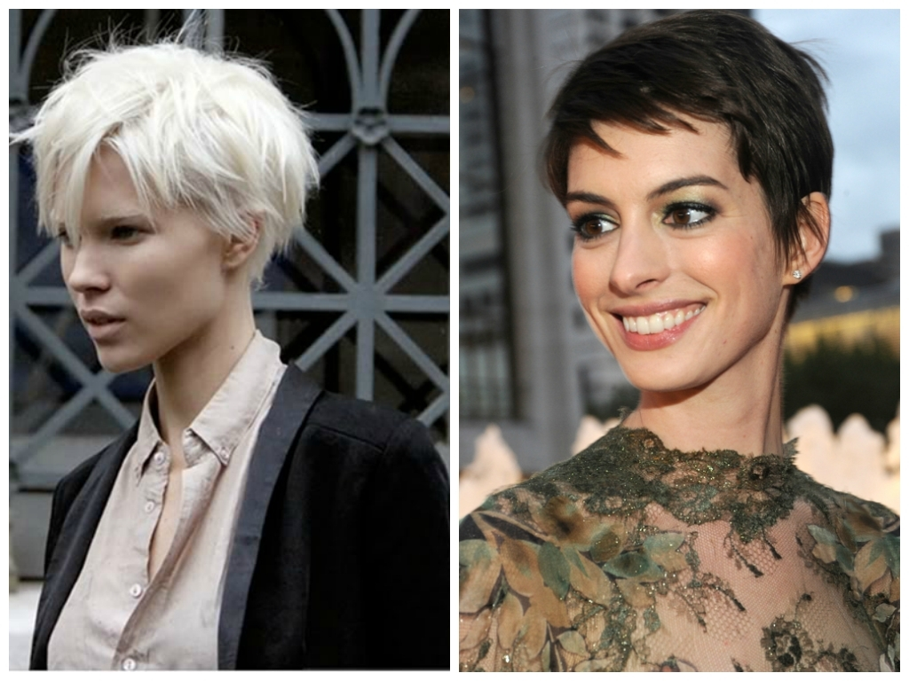Explore Gallery Of Short Pixie Hairstyles For Oval Faces Showing 3
