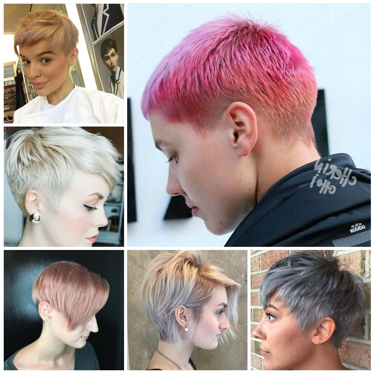 15 Best Collection of Edgy Pixie Hairstyles