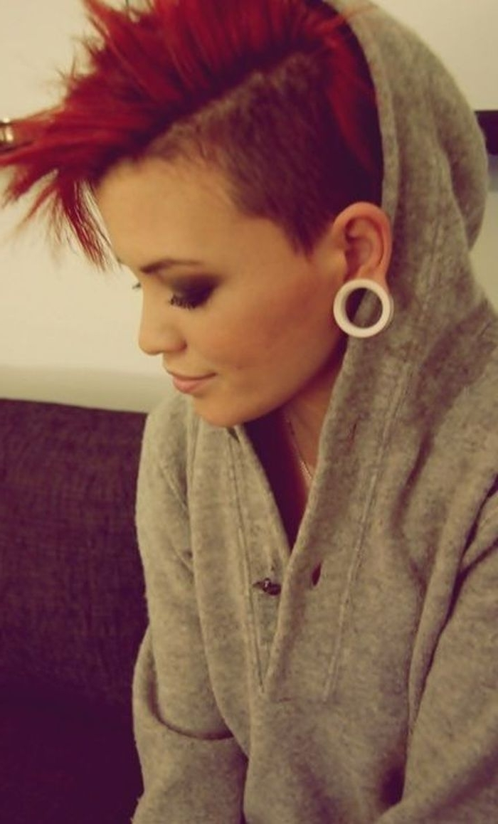 Edgy Short Punk Hairstyles – Can You Pull Off The Look? | Hairs I In Best And Newest Buzzed Pixie Hairstyles (View 14 of 15)