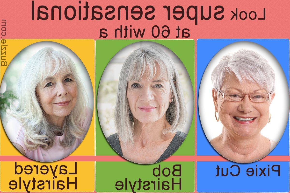 Elegant Short Hairstyles For Women Over 60 That Take Off Years For Current Pixie Hairstyles For Over (View 12 of 15)