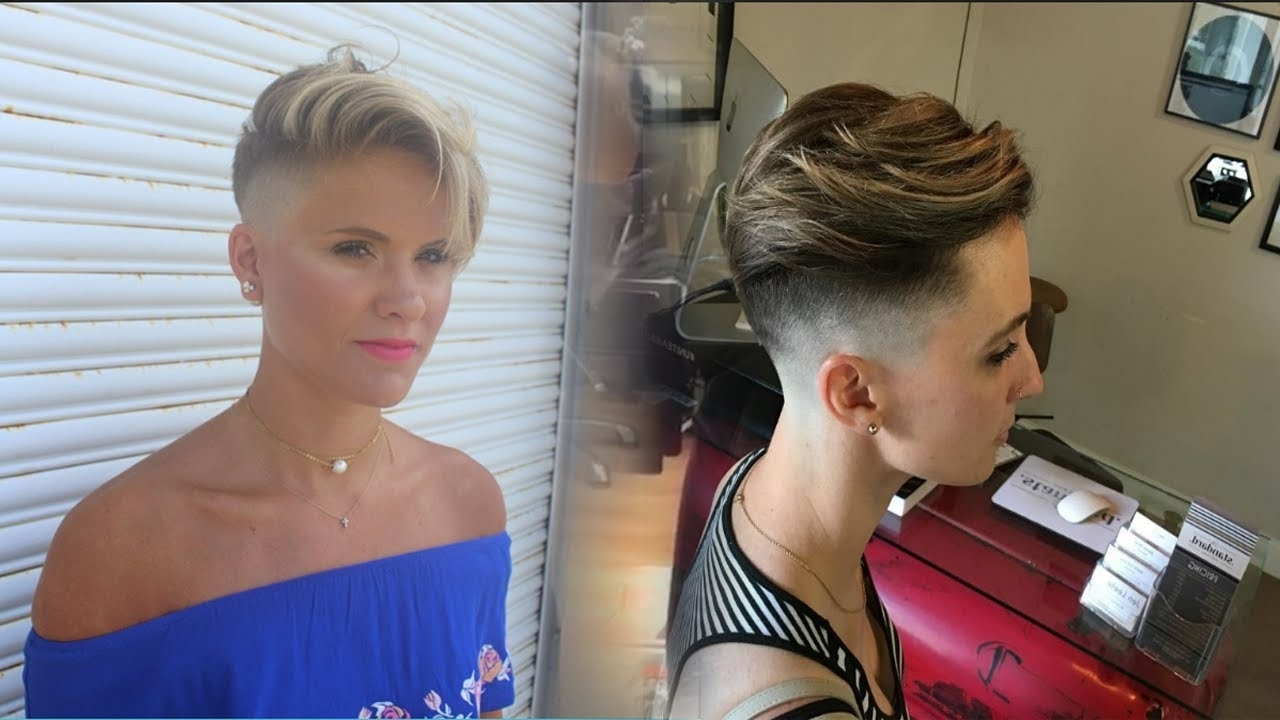 Displaying Photos of Clippered Pixie Hairstyles (View 2 of 15 Photos)