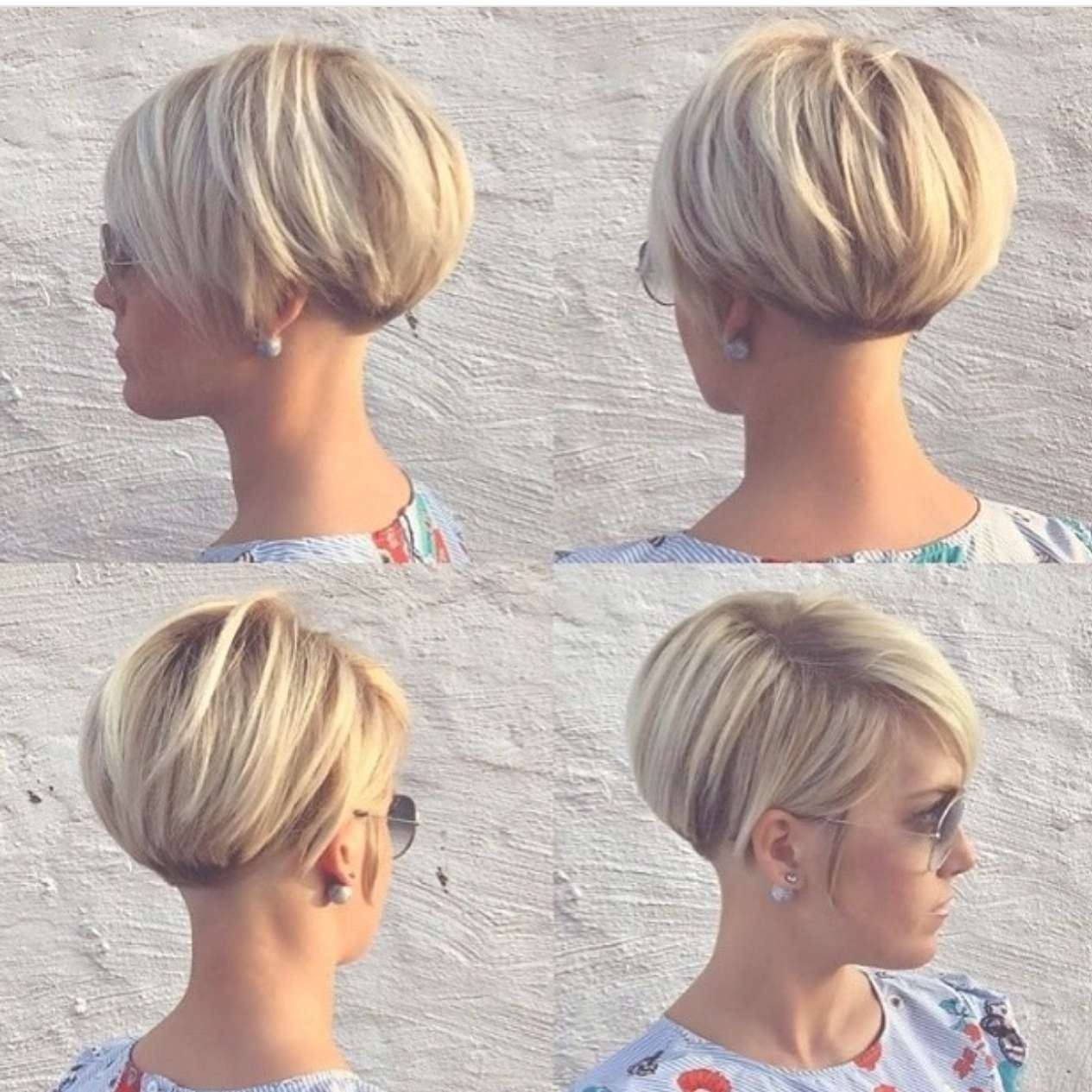 Fa3587D5D80A3610F6F20A82E4Bba5B6 (1265×1265)   Haircuts With Regard To Newest Bob Pixie Hairstyles (View 8 of 12)