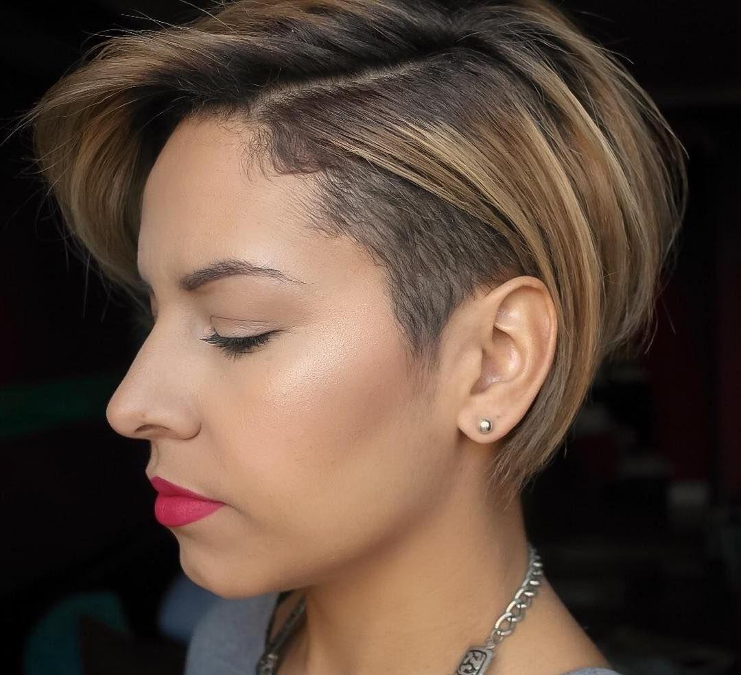 Fabulous Undercut Pixie   Short Cut   Pinterest   Undercut Pixie Intended For Recent Undercut Pixie Hairstyles (View 14 of 15)