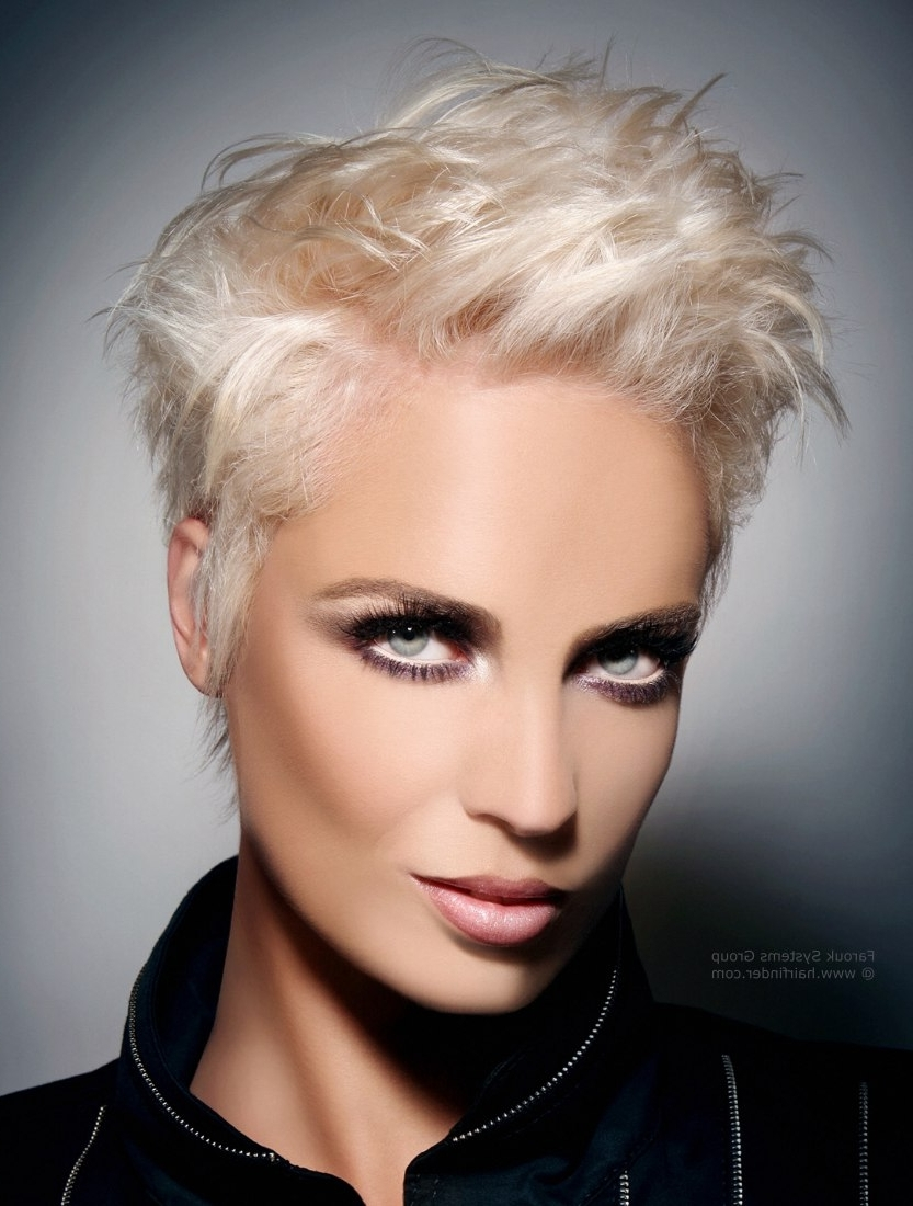 Fancy Short Blonde Hairstyles 73 Inspiration With Short Blonde In Most Up To Date Pink Pixie Hairstyles (View 5 of 15)