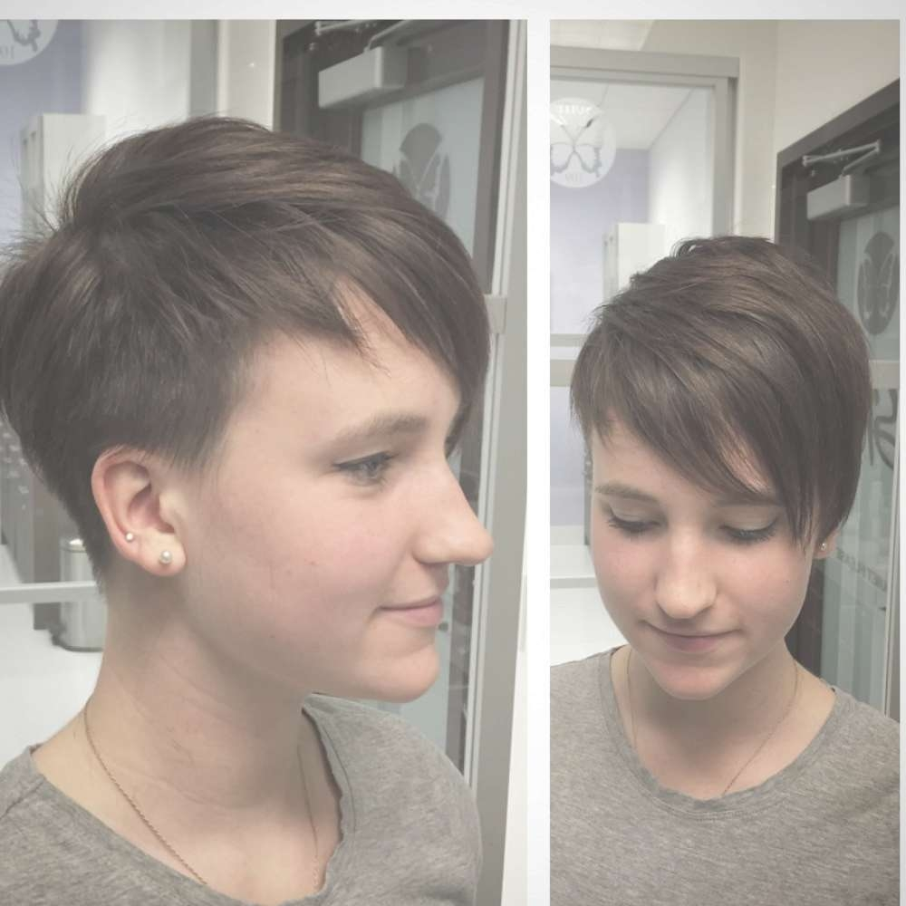 Image Gallery Of Asymmetrical Pixie Hairstyles View 15 Of 15 Photos