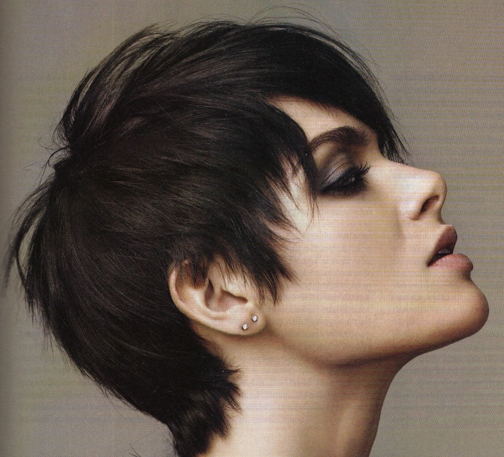 Flexible Pixie Hairstyles To Fit Any Face Shape : Simple Hairstyle Within Recent Pixie Hairstyles For Thick Wavy Hair (View 13 of 15)