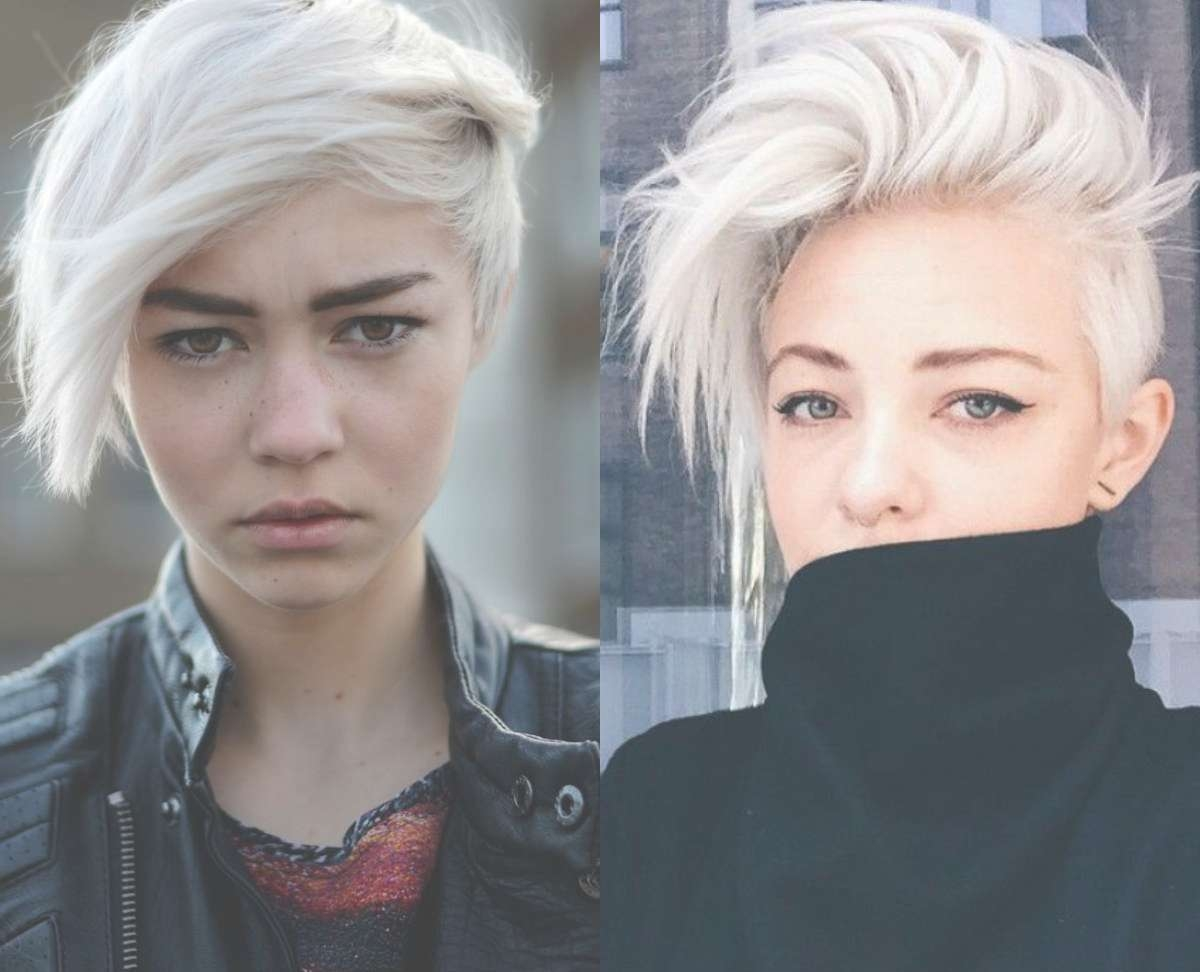 Fresh Cool Ideas On Blonde Pixie Haircuts | Hairdrome For Most Up To Date Blonde Pixie Hairstyles (View 2 of 15)