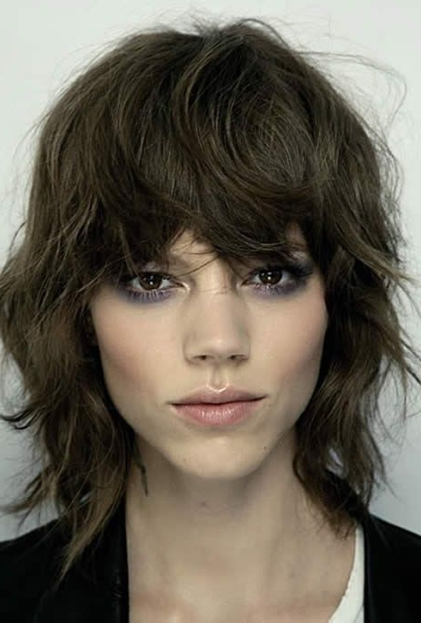 Get More Of Us>>>.hair News Network On Facebook Https://www Regarding 2018 Short Shaggy Hairstyles With Fringe (Gallery 8 of 15)