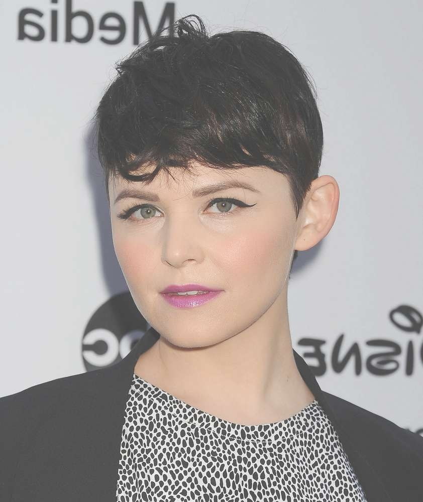 Ginnifer Goodwin's Hair Story: The Long & Short Of It | Huffpost In Most Up To Date Actress Pixie Hairstyles (Gallery 14 of 15)