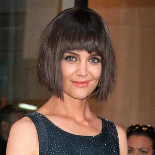 Good Katie Holmes Bob Haircuts | Short Hairstyles 2016 – 2017 For Most Popular Shaggy Bob Hairstyles With Fringe (Gallery 12 of 15)