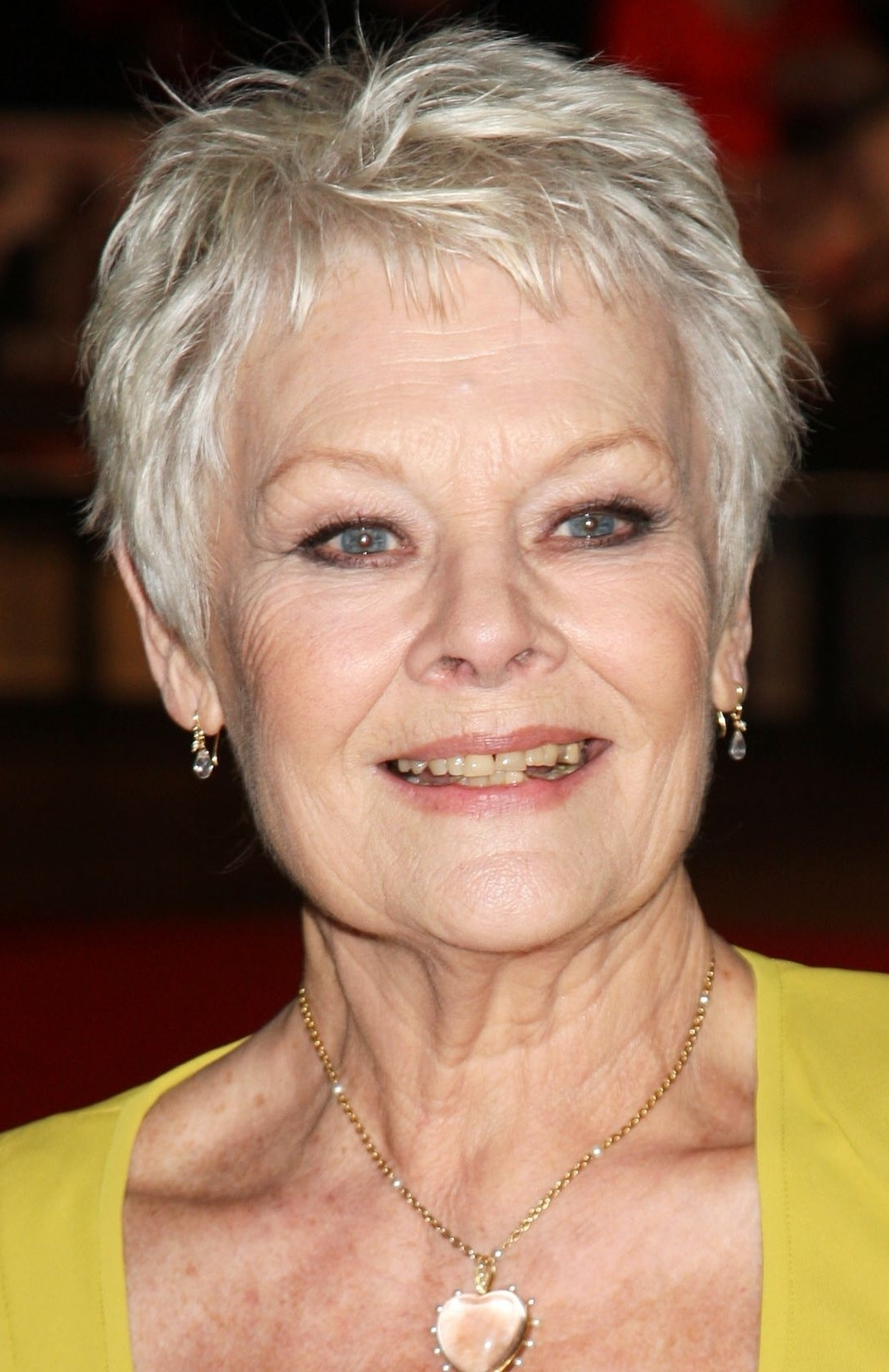 Gorgeous Haircuts For Women Past 70 | Shorter Hair Cuts, Fine Hair Pertaining To Most Up To Date Judi Dench Pixie Hairstyles (Gallery 5 of 15)