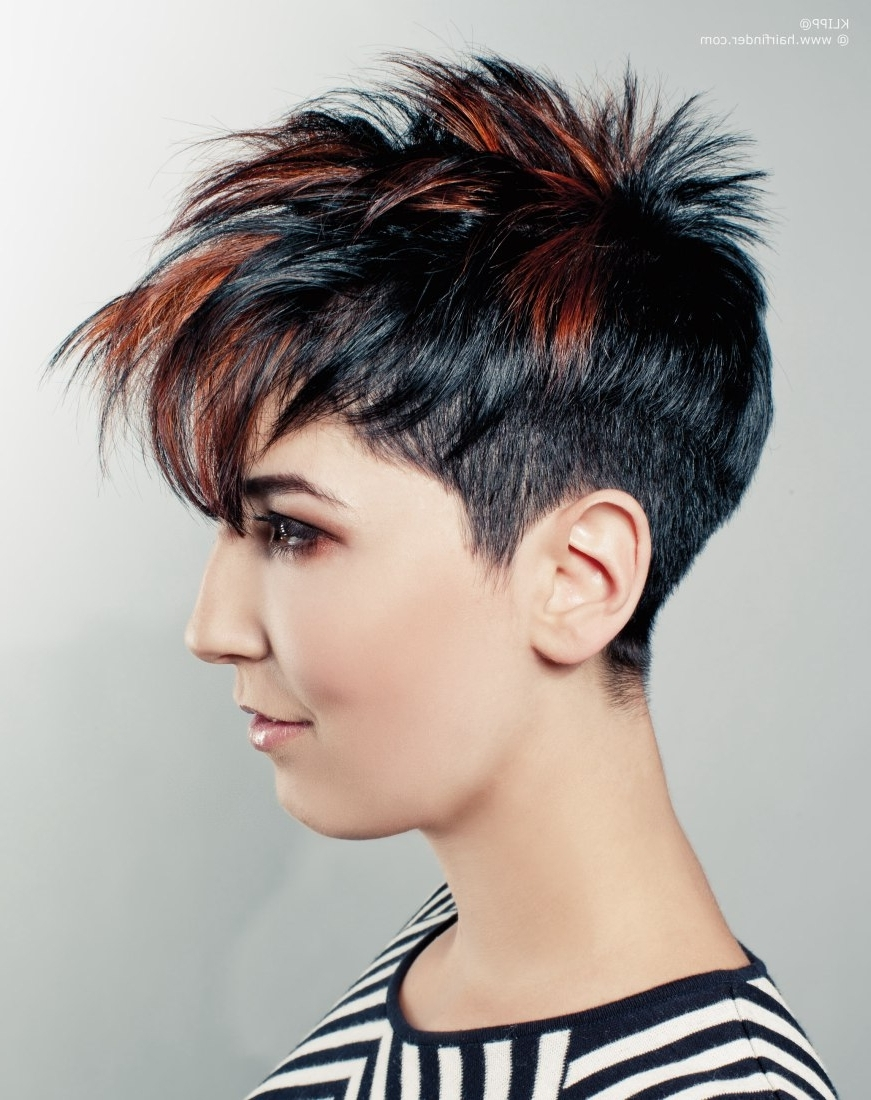 Groovy Short Punk Hairstyles : Short Punk Hair | Hair | Pinterest Throughout Most Recently Punk Pixie Hairstyles (Gallery 8 of 15)