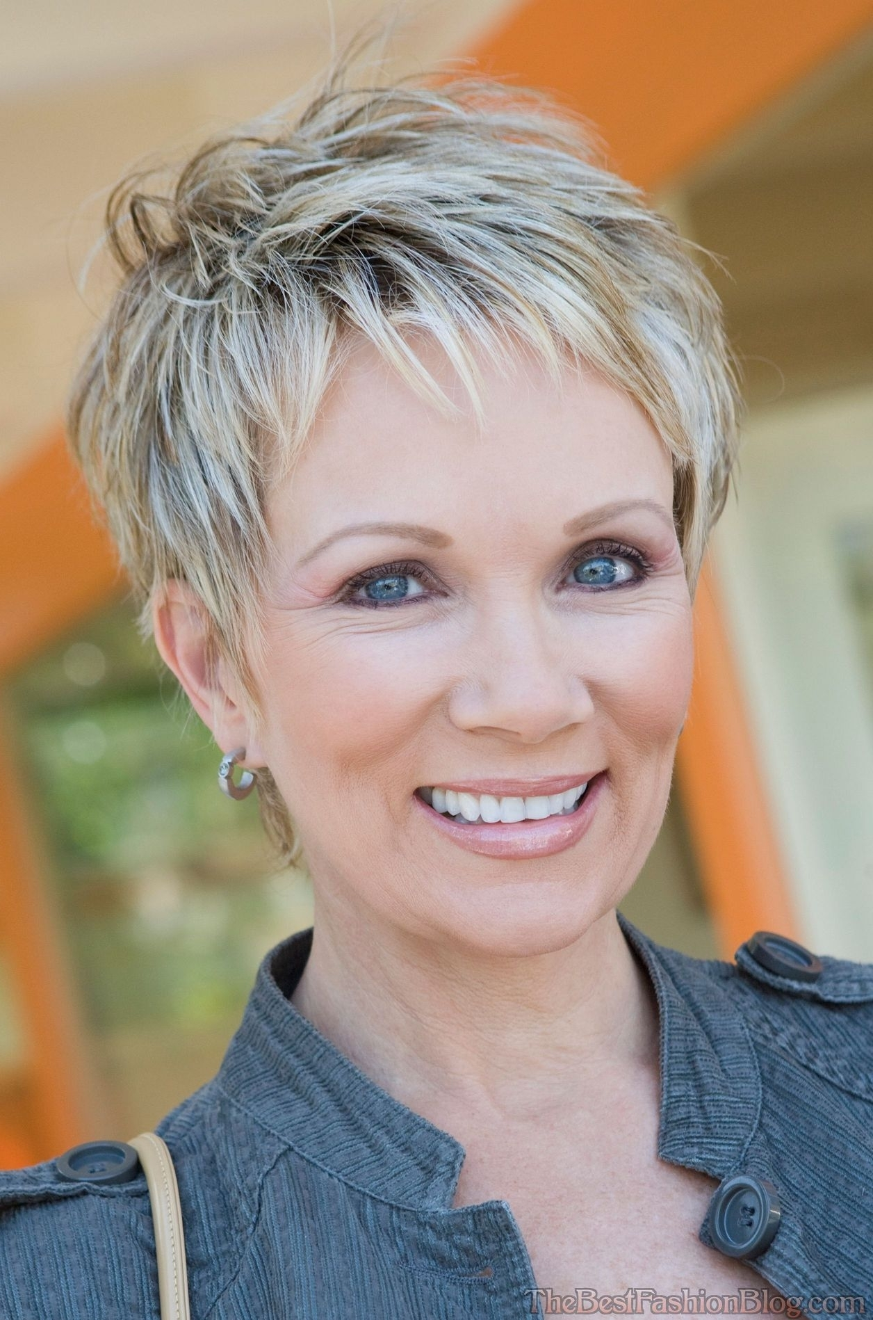 Haircuts For Older Women Intended For Most Popular Pixie Hairstyles For Older Ladies (View 14 of 15)