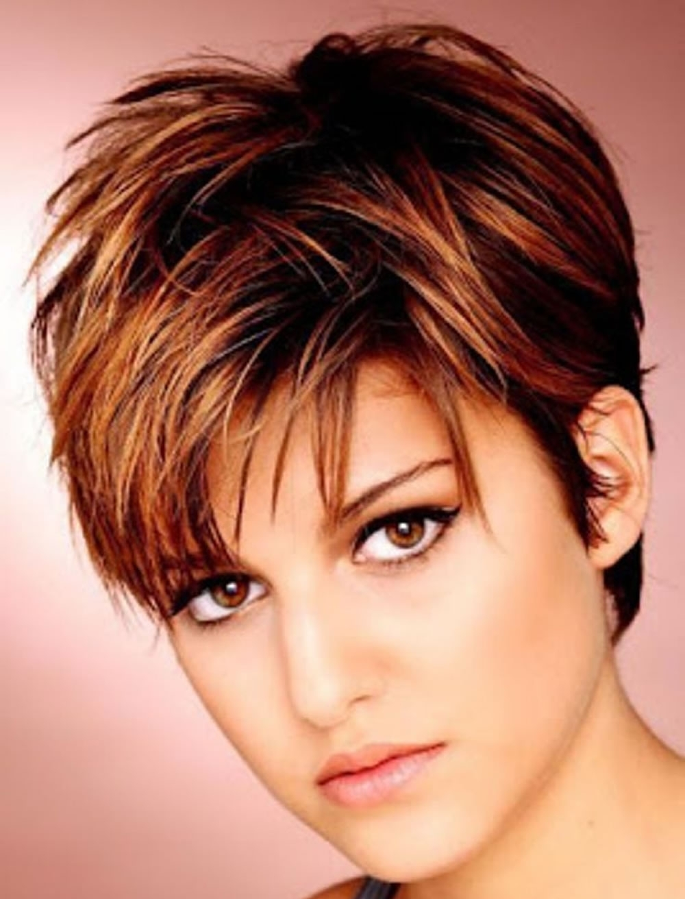 Haircuts For Round Face Thin Hair Ideas For 2018 With Newest Long Pixie Hairstyles For Thin Hair (View 12 of 15)