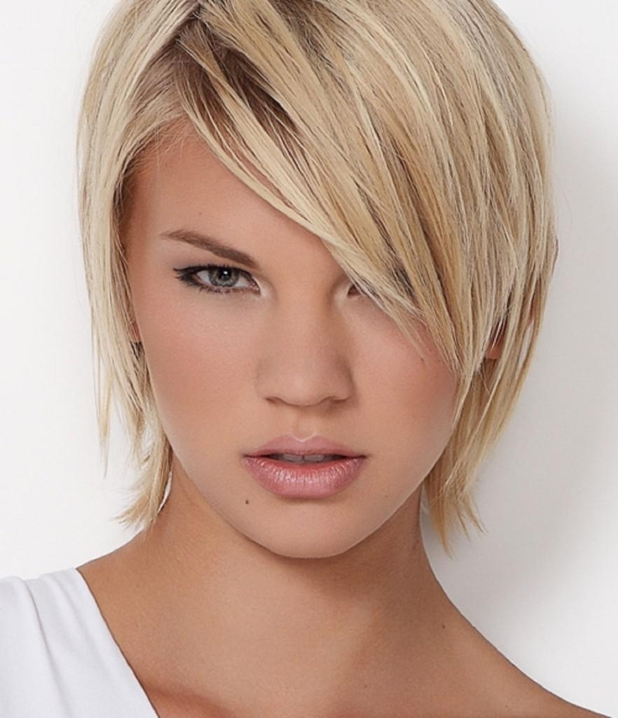 Haircuts For Thin Fine Hair And Round Faces Pixie Haircuts For Throughout Most Recently Pixie Hairstyles For Thin Fine Hair (View 11 of 15)