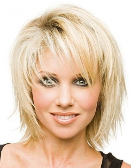 Hairstyle For Thin Hair – List Of Best Shag Hairstyle For Thin Throughout Latest Shag Hairstyles For Thin Hair (View 12 of 15)