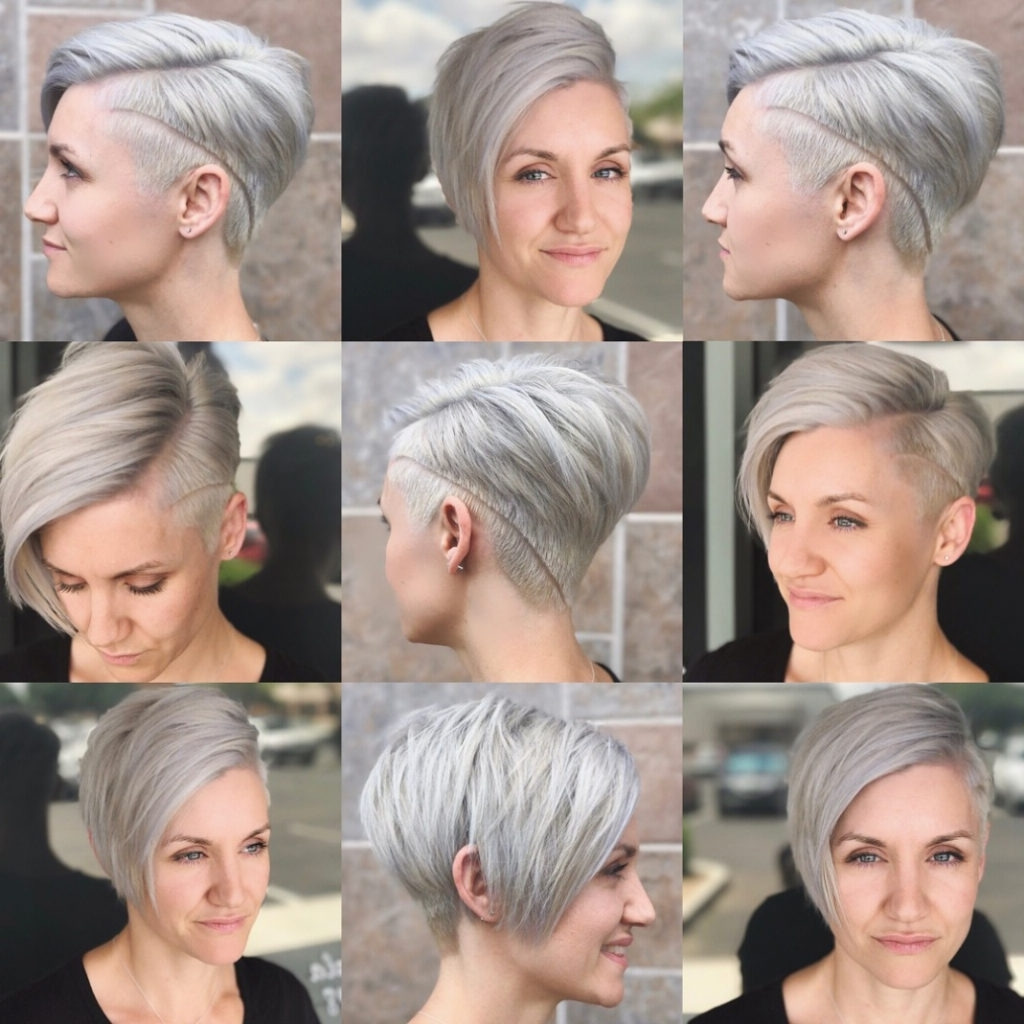 Hairstyles ~ 10 Short Hairstyles For Women Over 40 Pixie Haircuts Regarding Recent Short Edgy Pixie Hairstyles (View 9 of 15)