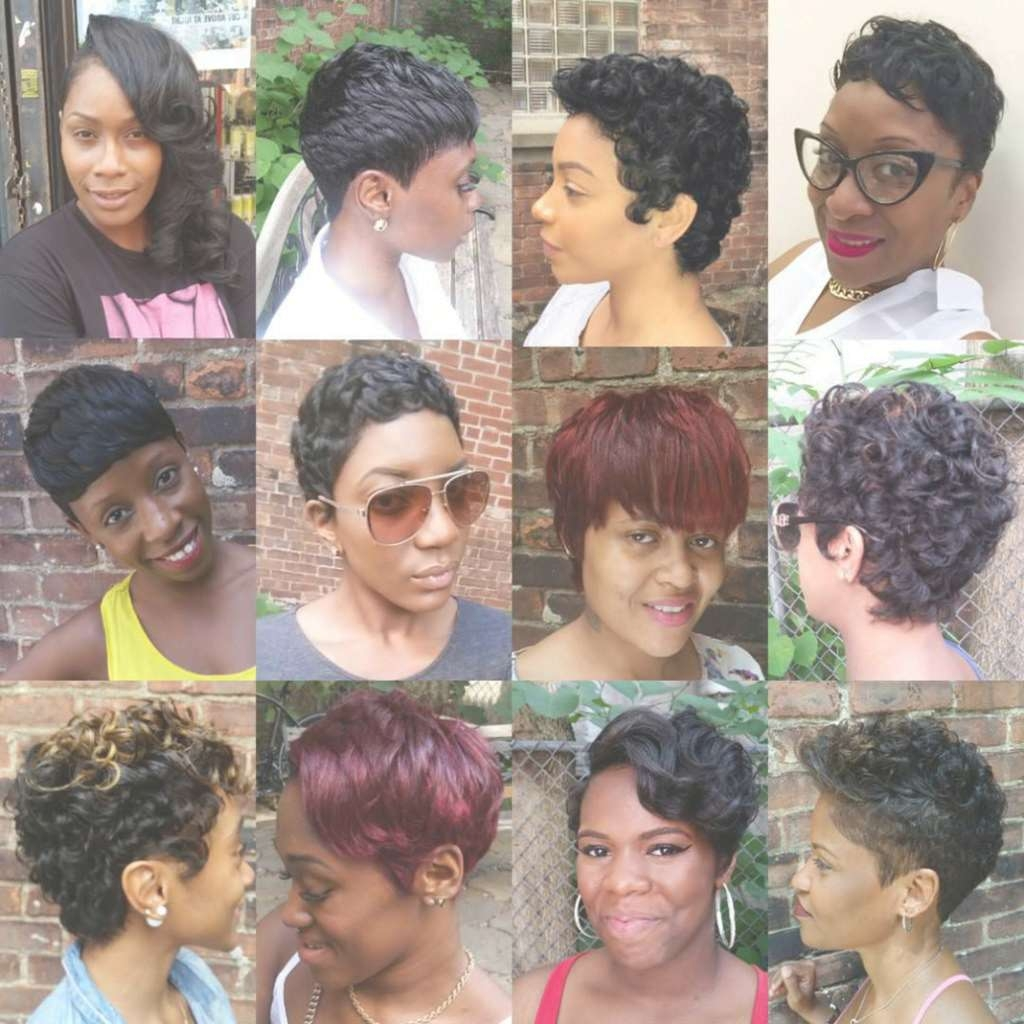 Gallery of Black Girl Pixie Hairstyles (View 8 of 15 Photos)