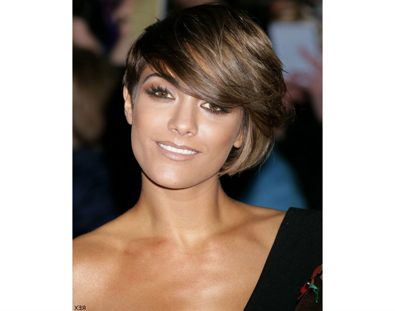 Hairstyles For Fine Thin Hair Short Bob Hairstyles For Oval Shaped Intended For Most Popular Pixie Hairstyles For Asian Round Face (View 13 of 15)