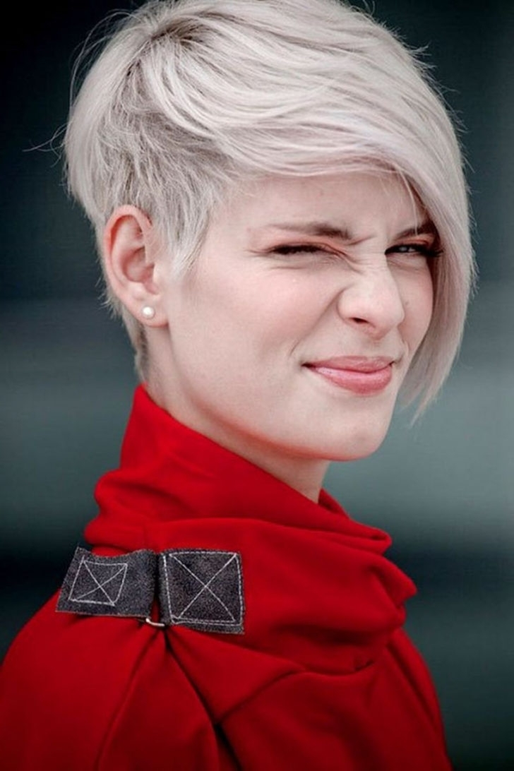 Hairstyles: Pixie Hairstyles With Long Bangs (View 9 of 15)