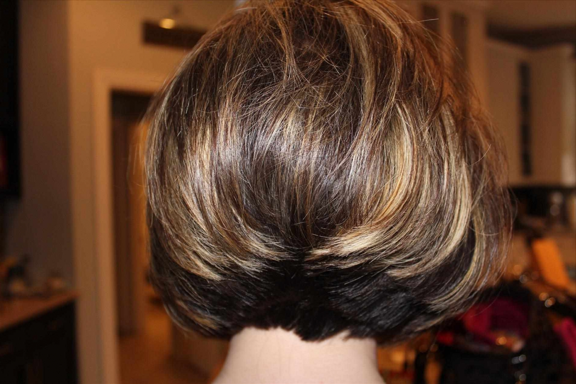Hairstyles ~ Stacked Short Bob Hairstyles 2015 Back View Bob Within Most Recently Pixie Hairstyles With Stacked Back (View 4 of 15)