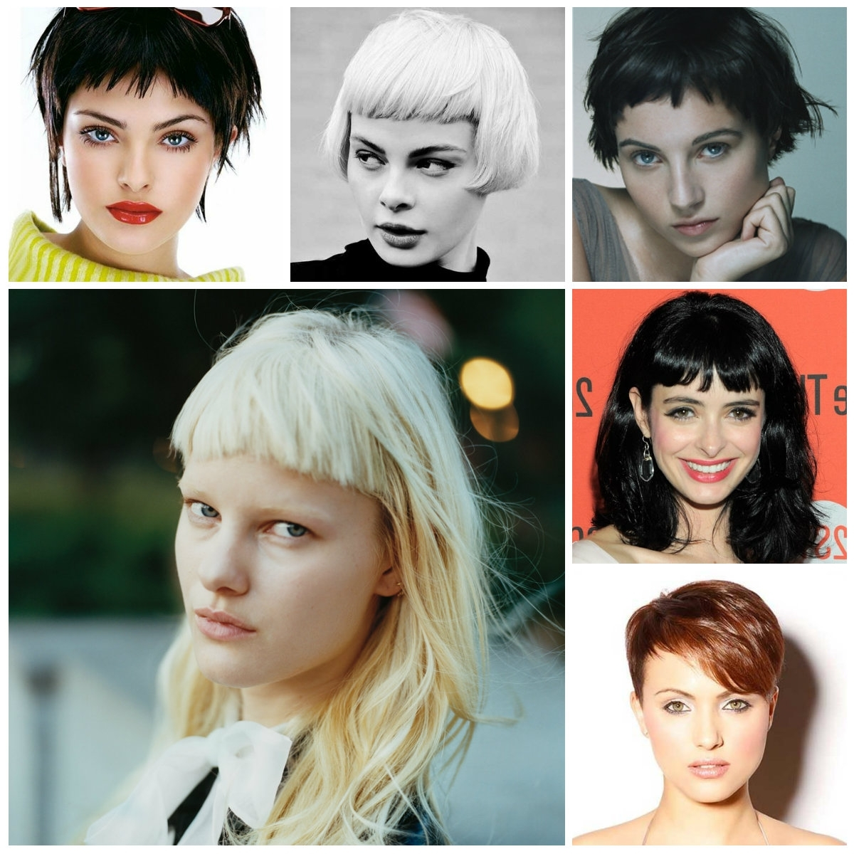 Hairstyles With Short Bangs For 2017 | Hairstyles 2018 New Regarding Recent Pixie Hairstyles With Fringe (View 4 of 15)
