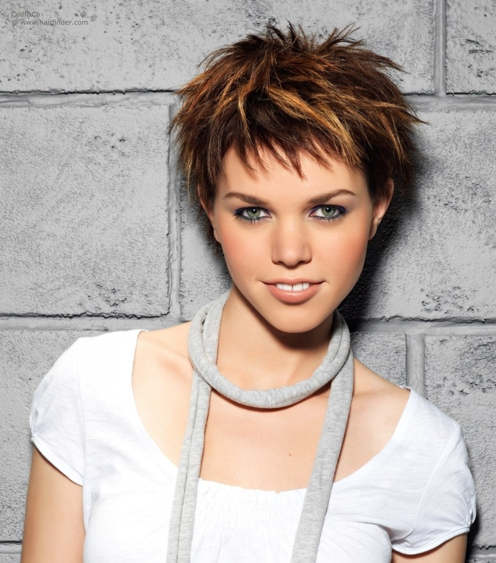 Hottest Pixie Haircuts For Short Hair Short Hairstyles With Regard To Latest Pixie Hairstyles With Highlights (View 9 of 15)
