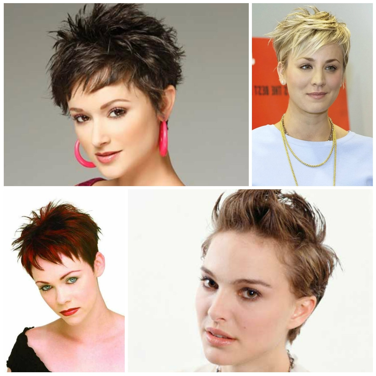 Hottest Spiky Pixie Hairstyle Ideas – Haircuts And Hairstyles For With Regard To Best And Newest Pixie Hairstyles With Highlights (View 8 of 15)