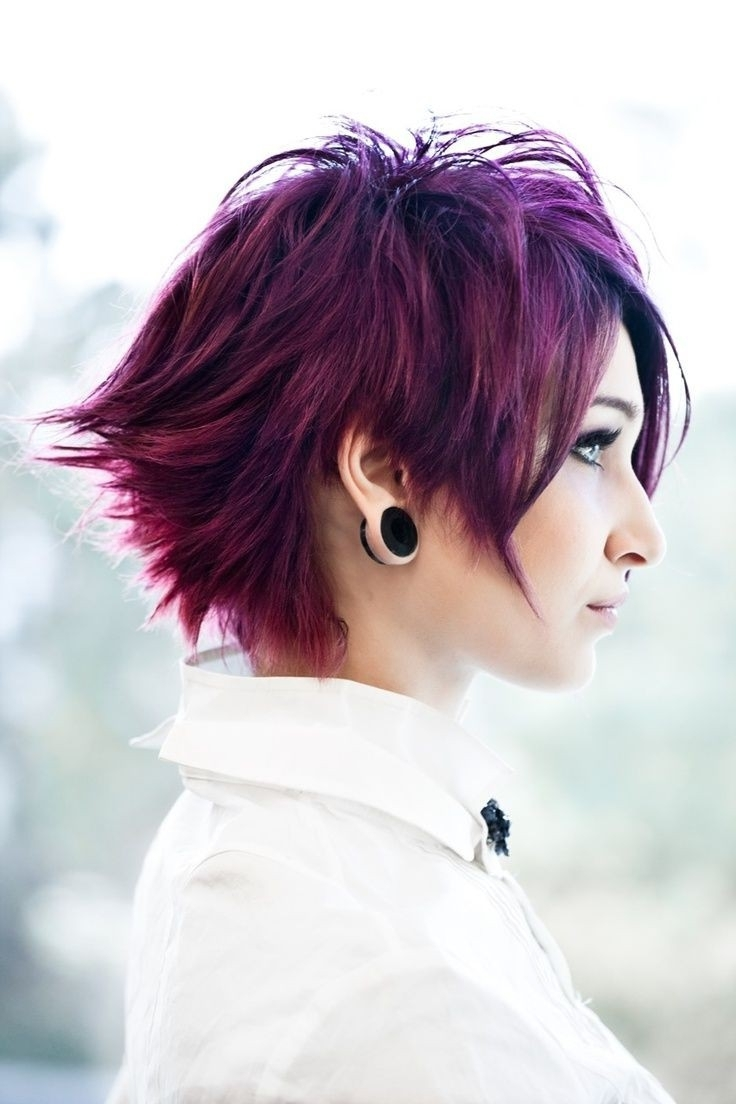 How To Style Short Punk Hair | Short Hairstyles – Youtube | Punk Intended For Best And Newest Punk Rock Pixie Hairstyles (View 14 of 15)