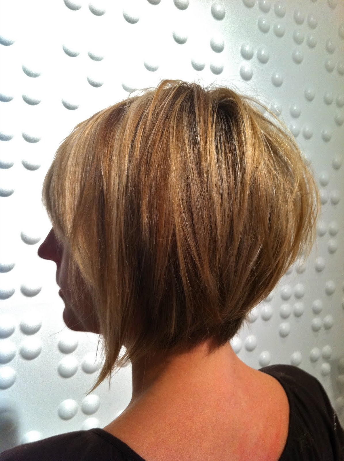 If I Go Short Again Layered Bob I Love The Back Of This Regarding Most Popular Line Pixie Hairstyles (View 14 of 15)