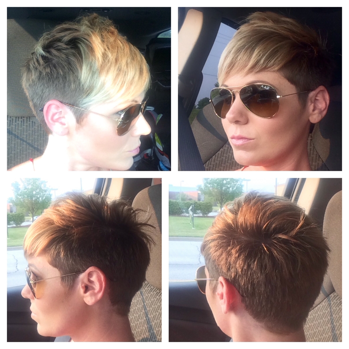 Side Shaved Pixie Haircut With Bangs Haircuts Models Ideas