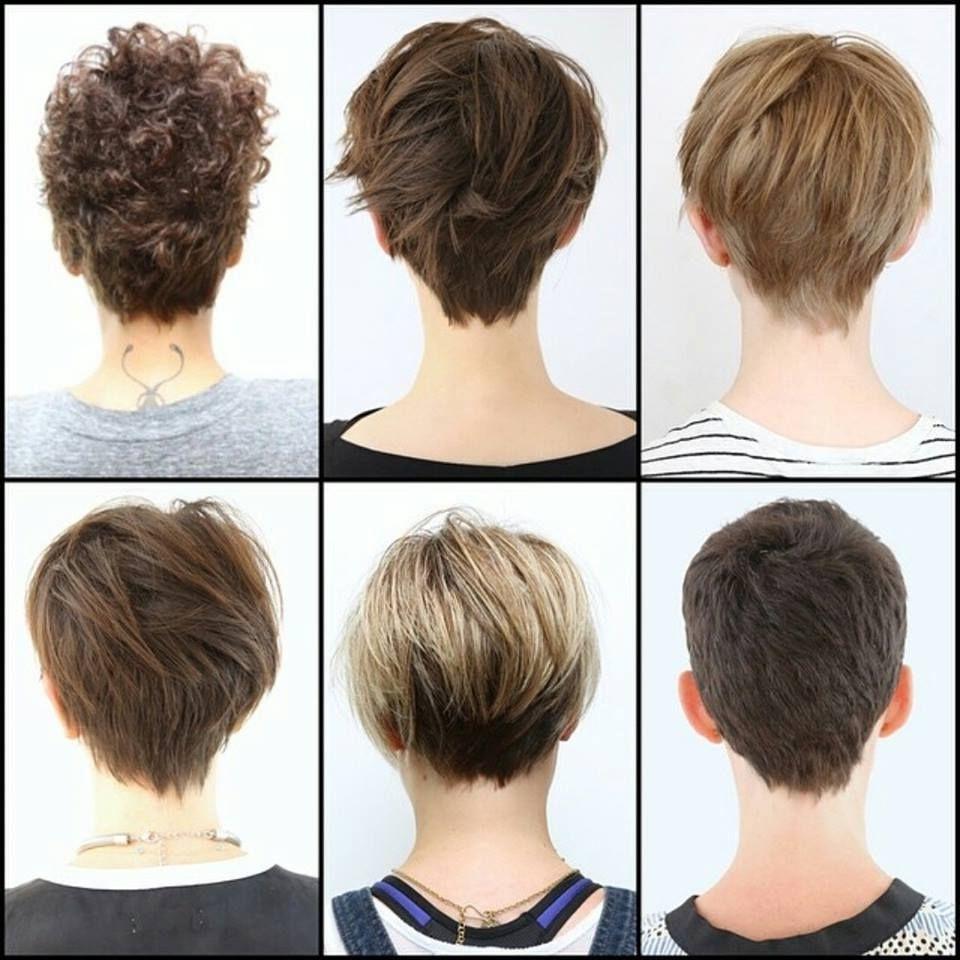 Pixie Haircut 2018 Back View Haircuts Models Ideas