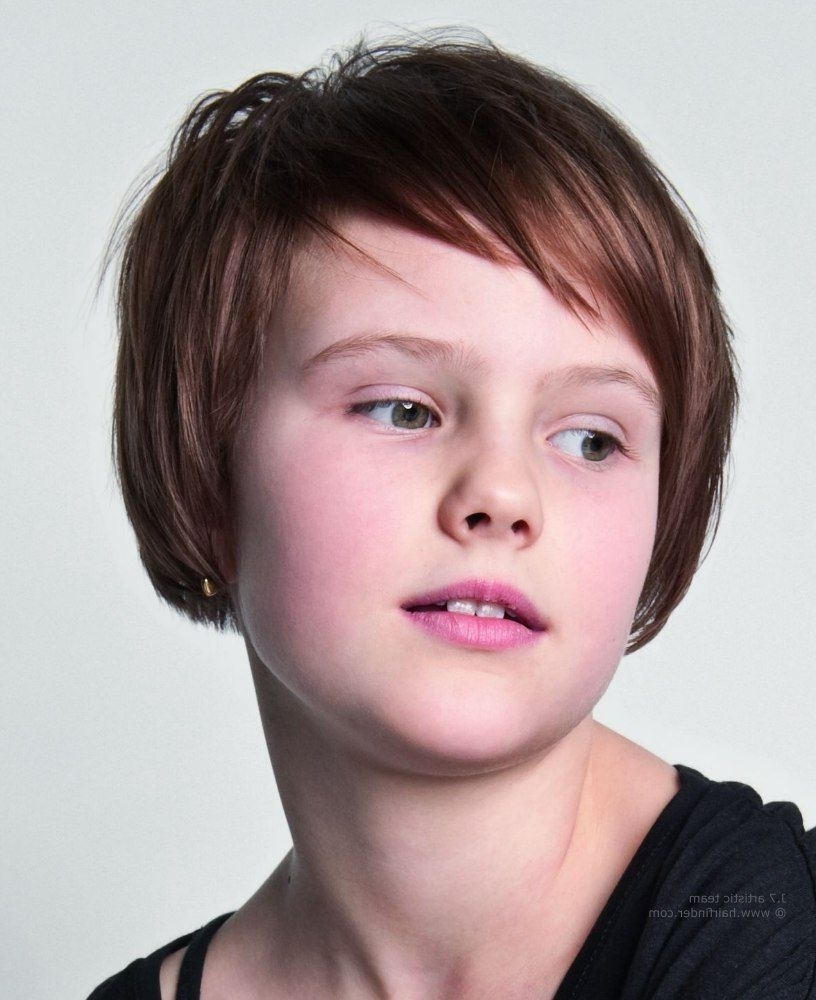 Photo Gallery Of Little Girls Pixie Hairstyles Showing 4 Of 15 Photos