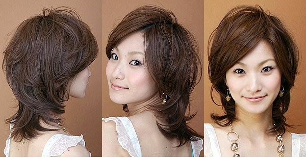 Japanese Women's Hair Style - Hairstyles For Women pertaining to Newest Japanese Shaggy Hairstyles