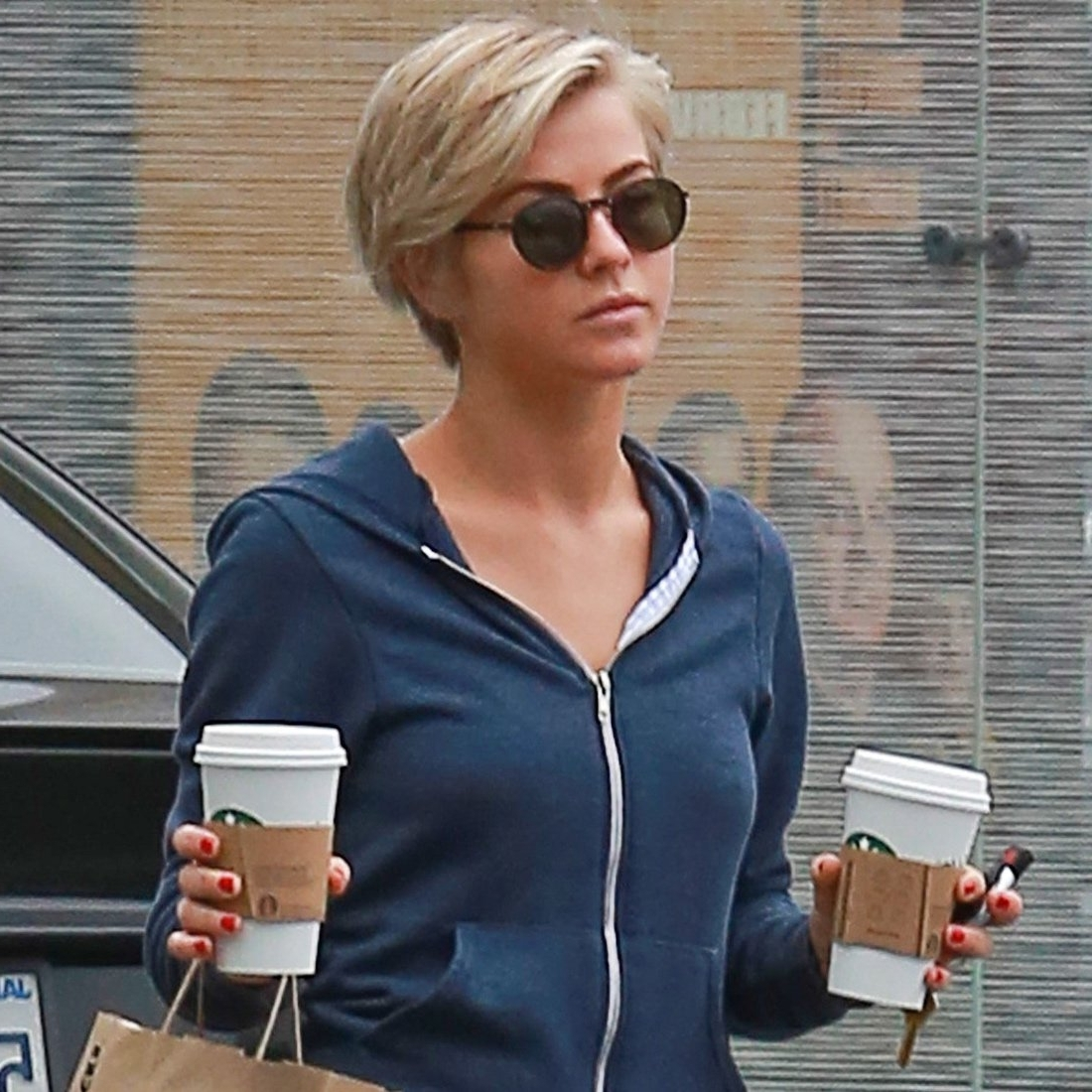 Julianne Hough With Short Hair Pictures   Popsugar Celebrity intended for Most Current Julianne Hough Pixie Hairstyles