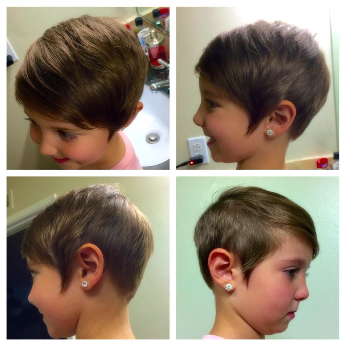 Displaying Photos Of Kids Pixie Hairstyles View 6 Of 15 Photos