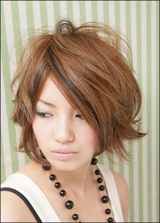 Korean Women Hairstyles   Hairstyle Album Gallery   Hairstyle With Most Popular Korean Shaggy Hairstyles (View 4 of 15)