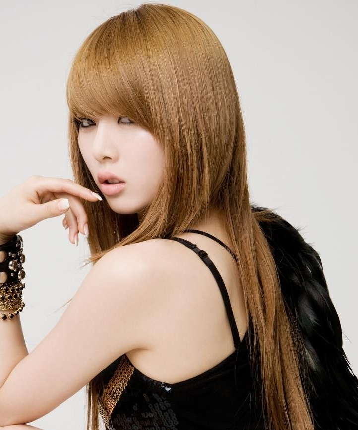 Kpop Hairstyles For Girls – Google Søgning   Projects To Try With Most Popular Korean Shaggy Hairstyles (View 13 of 15)