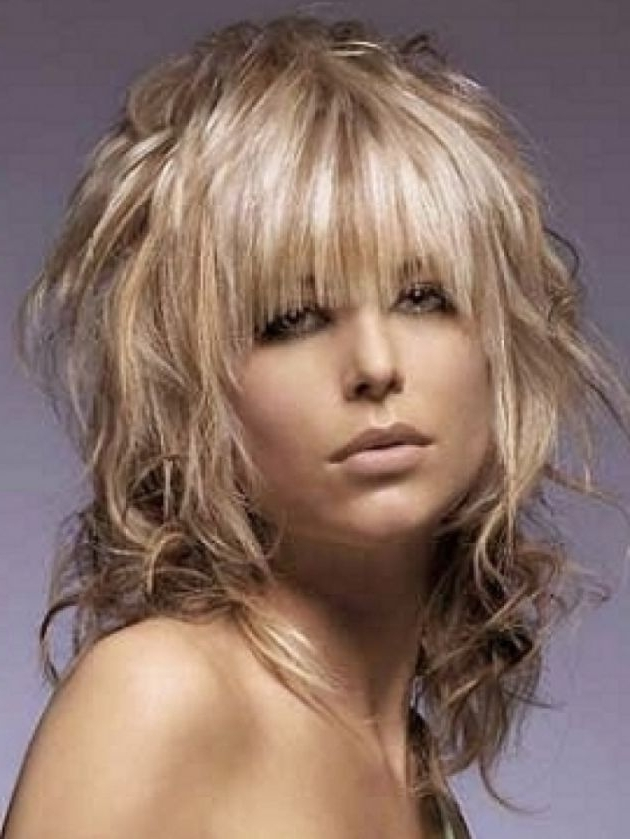 Latest Layered Shaggy Hair Pictures – Wow – Image Results Regarding 2018 Medium Shaggy Hairstyles For Curly Hair (View 8 of 15)