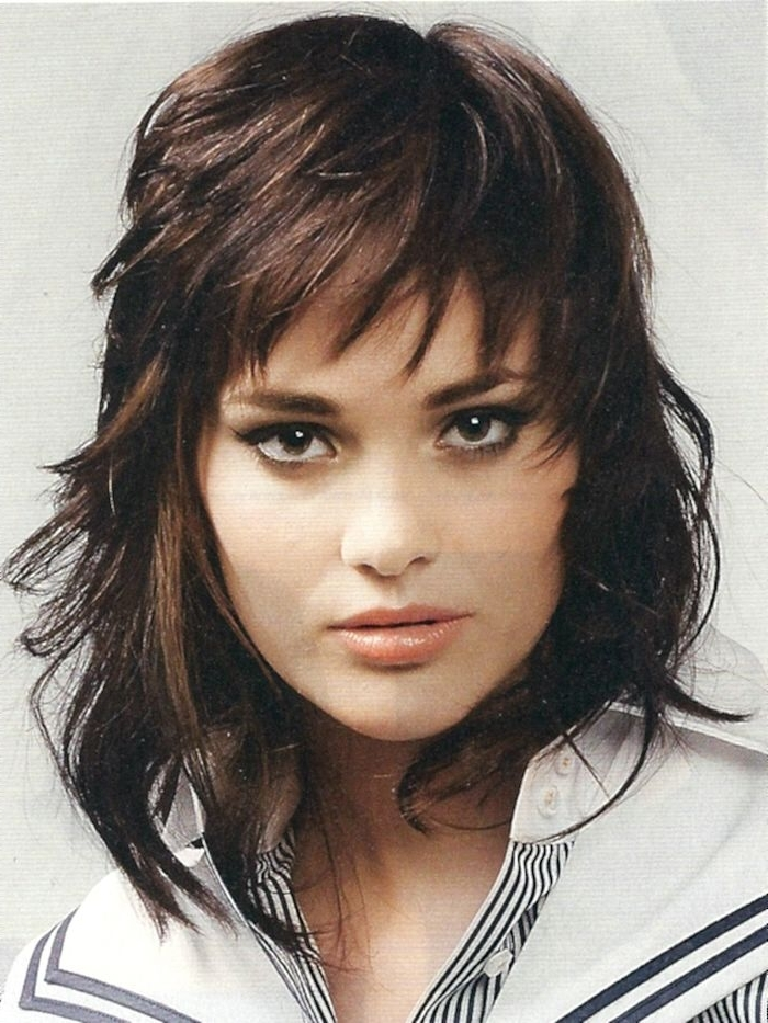 Like This One Too | Hairstyles | Pinterest | Thin Hair, Haircuts With Best And Newest Medium Shaggy Hairstyles For Thin Hair (View 8 of 15)