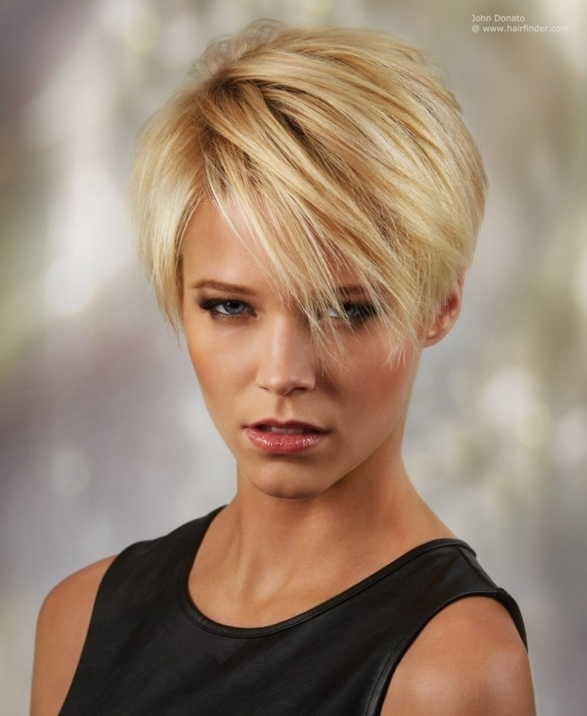 Long Bang Short Haircuts Pixie Haircut Styles Ideas New Beauty With Current Long Bang Pixie Hairstyles (View 2 of 15)