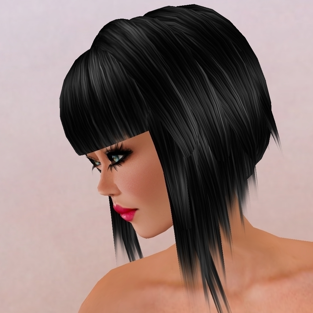 Long Bangs Short Back Haircut Short Hairstyles With Long Side In Newest Pixie Hairstyles With Long Fringe (View 13 of 15)